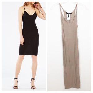 BCBGMaxAzria Kimmie Essential Slip Dress Cinder